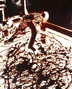 Vin Muniz, Action Photo, after Hans Namuth, 1997