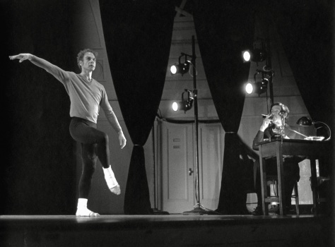 How to Pass, Kick, Fall, and Run was choreographed by Cunningham and accompanied by spoken text by Cage. Copyright:  Creative Commons (Attribution, Non-Commercial, Share-alike) Rights Held By:  University Musical Society